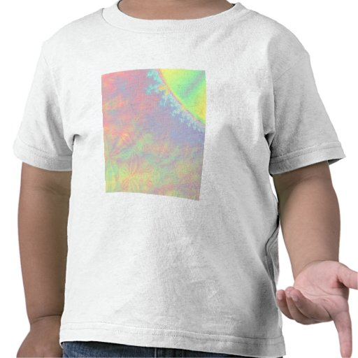 Solar Flare Fractal. Colorful Abstract. Shirts