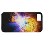 Solar Flare from the Star EV Lacertae EV Lac iPhone 5 Case