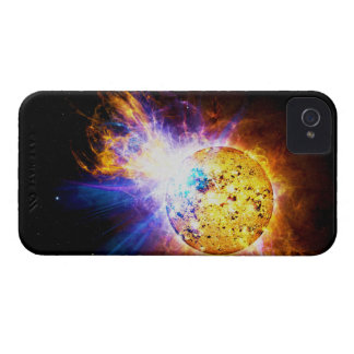 Solar Flare from the Star EV Lacertae EV Lac Case-Mate iPhone 4 Case