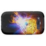Solar Flare from the Star EV Lacertae EV Lac Samsung Galaxy SIII Case