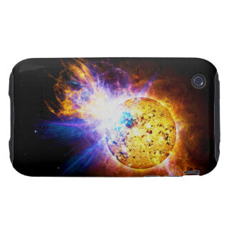 Solar Flare from the Star EV Lacertae EV Lac Tough iPhone 3 Case
