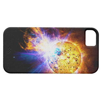 Solar Flare from the Star EV Lacertae EV Lac iPhone SE/5/5s Case
