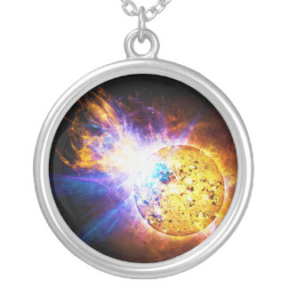 Solar Flare from the Star EV Lacertae EV Lac Custom Jewelry