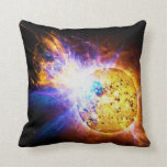 Solar Flare from the Star EV Lacertae EV Lac Pillows