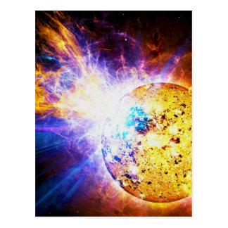 Solar Flare from the Star EV Lacertae EV Lac Postcard