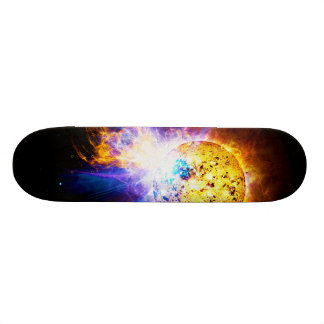 Solar Flare from the Star EV Lacertae EV Lac Skateboard