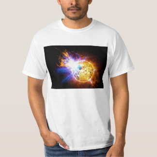 Solar Flare from the Star EV Lacertae EV Lac T-Shirt
