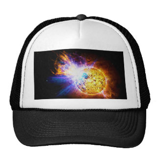 Solar Flare from the Star EV Lacertae EV Lac Trucker Hat