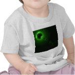 Solar flare Green Tee Shirt
