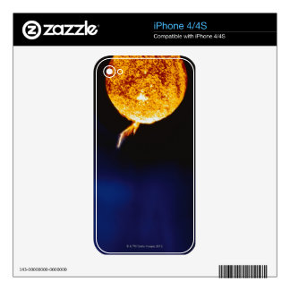Solar Flare iPhone 4S Decal