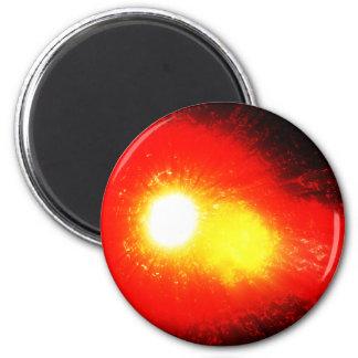 Solar Flare 2 Inch Round Magnet