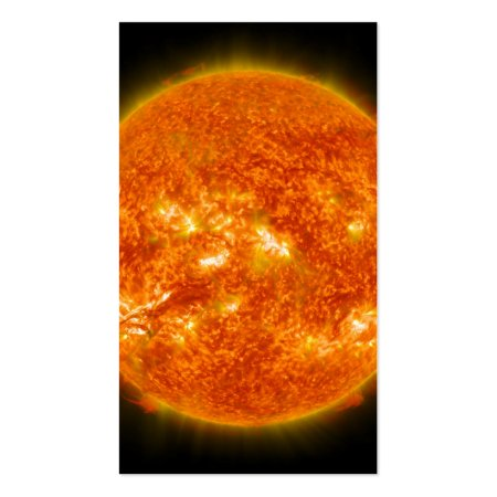 Coronal Mass Injection from the Sun Solar Flare Astronomy Business Cards