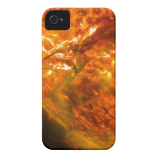 Solar Flare or Coronal Mass Ejection on Sun iPhone 4 Covers