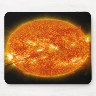 Solar Flare or Coronal Mass Ejection on Sun Mousepad