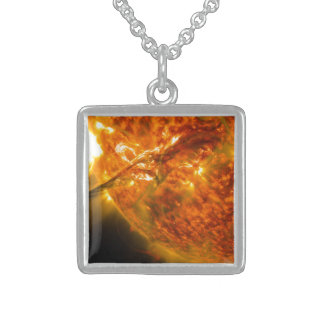 Solar Flare or Coronal Mass Ejection on Sun Pendant