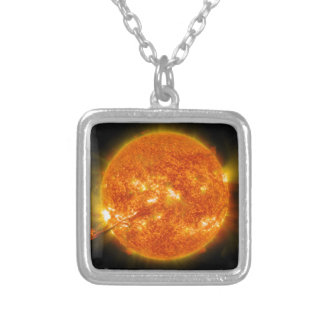 Solar Flare or Coronal Mass Ejection on Sun Necklace