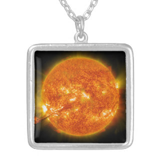Solar Flare or Coronal Mass Ejection on Sun Pendants