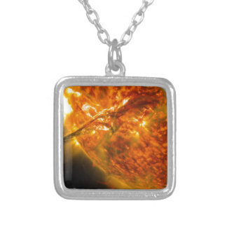 Solar Flare or Coronal Mass Ejection on Sun Necklaces