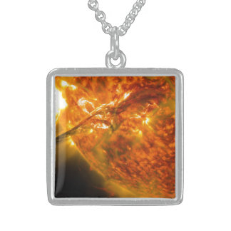 Solar Flare or Coronal Mass Ejection on Sun Custom Jewelry