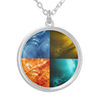 Solar Flare or Coronal Mass Ejection Sun Collage Jewelry