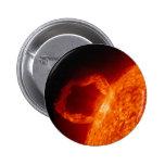 Solar Flare Pinback Button