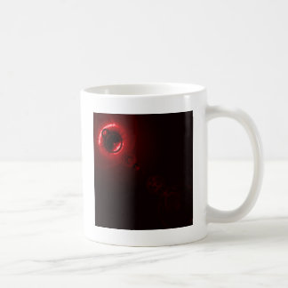 Solar flare Red Coffee Mug
