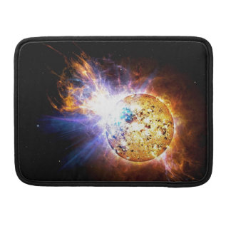 Solar flare sleeve for MacBook pro