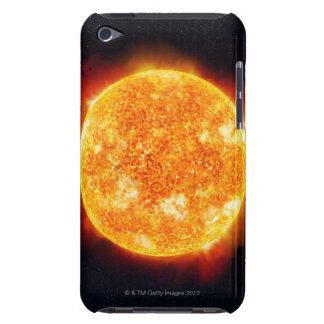 Solar Flares Barely There iPod Case