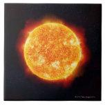 Solar Flares Ceramic Tiles