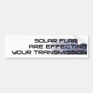 Solar-Flares-large_black Bumper Sticker