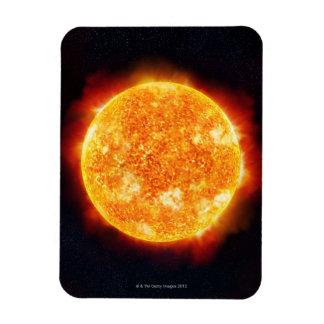 Solar Flares Magnet