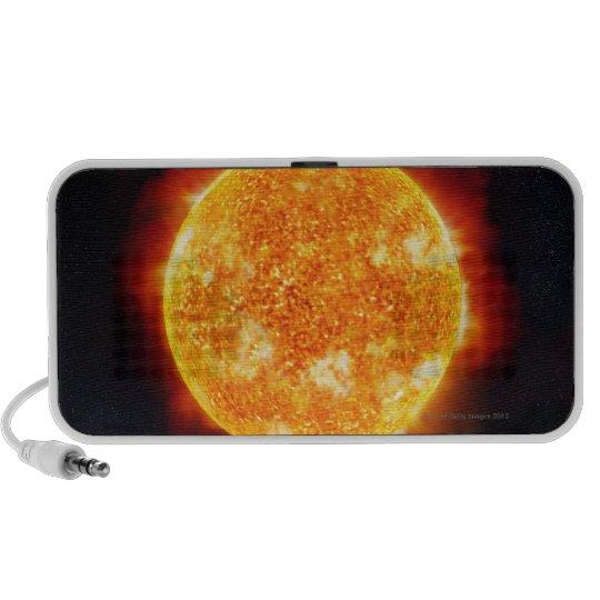 Solar Flares Mini Speaker