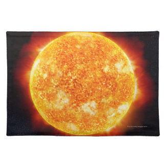Solar Flares Placemat