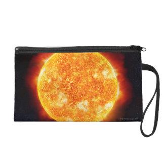 Solar Flares Wristlet Purse