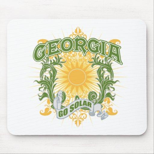 Solar Georgia Mouse Pad