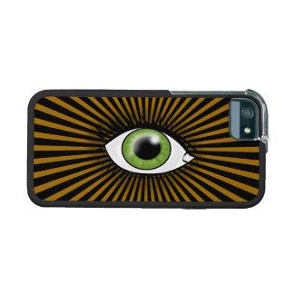 Solar Green Eye iPhone 5 Cover