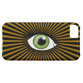 Solar Green Eye Cover For iPhone 5C