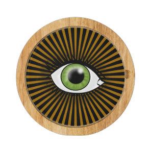 Solar Green Eye Cheese Board