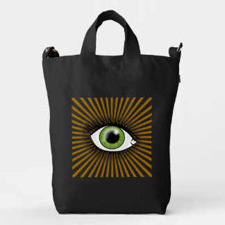 Solar Green Eye Duck Bag