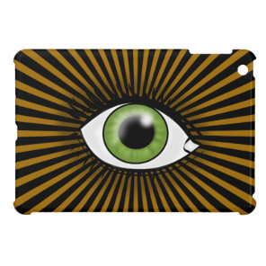 Solar Green Eye iPad Mini Covers
