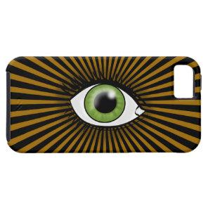 Solar Green Eye iPhone SE/5/5s Case
