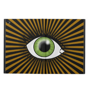 Solar Green Eye Powis iPad Air 2 Case