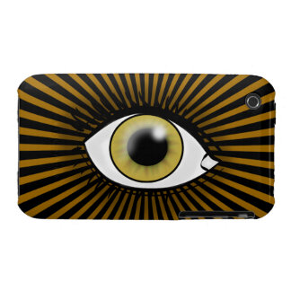 Solar Hazel Eye iPhone 3 Case-Mate Cases