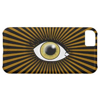Solar Hazel Eye Case For iPhone 5C
