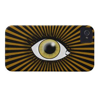 Solar Hazel Eye iPhone 4 Case-Mate Case