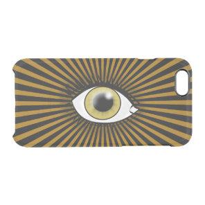 Solar Hazel Eye Clear iPhone 6/6S Case
