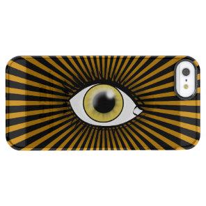 Solar Hazel Eye Clear iPhone SE/5/5s Case