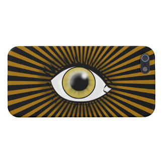 Solar Hazel Eye Cover For iPhone SE/5/5s