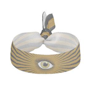 Solar Hazel Eye Elastic Hair Tie