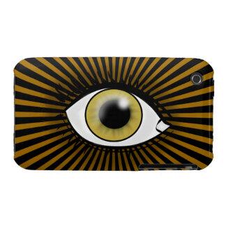 Solar Hazel Eye iPhone 3 Cover